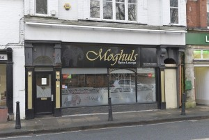 Exterior of Moghuls in Cottingham